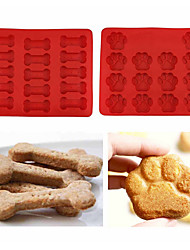 cheap -Bakeware tools Silicone Eco-friendly / DIY For Cookie / For Chocolate / For Ice Mold 2pcs