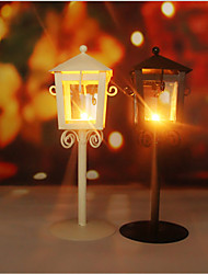 cheap -Rural Amorous Feelings Europe Type Restoring Ancient Ways, Wrought Iron Street Light A Candle Furnishing Articles