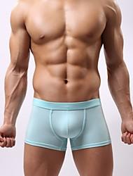 Недорогие -Муж. Модал Супер секси Однотонный Брифы-боксеры 1 шт.