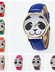 cheap -Women's Quartz Wrist Watch PU Band Charm / Fashion Black / White / Blue / Red / Orange / Brown / Green / Pink / Purple / Yellow / Khaki /