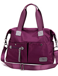 Women Bags Fall Nylon Shoulder Bag Tote Satchel for Shopping Casual Sports Outdoor Black Purple Blue