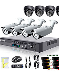 cheap -Liview® 700TVL Outdoor Day/Night Security Camera and 8CH HDMI 960H Network DVR System