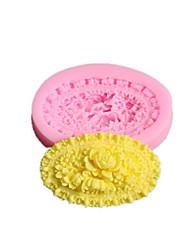 kalupa za pečenje Cvijet Pita Keksi Torta/kolači Silikon Eco-friendly Uradi sam Valentinovo