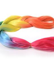 """Jumbo boîtes Tresses Ombre Braiding Hair Kanekalon Rose Extensions de cheveux 24 """" Cheveux Tressée"""