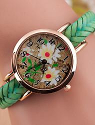 cheap -Women's  Fashion Woven Belt Watch Cool Watches Unique Watches