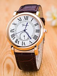 abordables -Mujer Reloj de Pulsera Reloj de Vestir Reloj de Moda Reloj Deportivo Chino Cuarzo Gran venta Cuero Auténtico Banda Encanto Creativo Casual