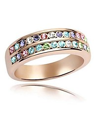 Ring Adjustable Party Jewelry Silver Plated Women Statement Rings 2pcs,One Size Silver