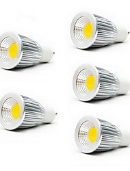 cheap -5W GU10 GU5.3(MR16) E26/E27 LED Spotlight MR16 1 COB 450-700lm Warm White Cold White 3000K/6500K AC 85-265V