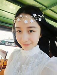 Pearl / Crystal / Flower Headpiece-Wedding / Special Occasion / Outdoor Handmade Headbands 1 Piece