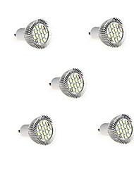 gu10 led spotlight mr16 16 smd 5630 650lm bianco caldo bianco freddo 3000k / 6500k decorativo ac 85-265v