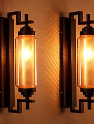 cheap -Vintage Loft American Style Retro Glass Wall Lamp Bedroom Lamp Outdoor Wall Light Fixture Lamp