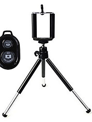 cheap -Universal Mini TrIpod Holder with Mobile Phone Holder and Bluetooth Remote Shutter for iPhone