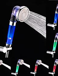 Недорогие -Современный Только душ LED Одно отверстие Живопись, Смеситель для душа