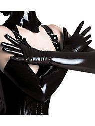 cheap -Halloween Props Woman's Hot Sell PVC Leather Gloves Halloween/Christmas/New Year