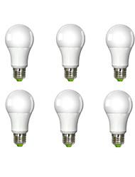 economico -E26/E27 Lampadine globo LED A60(A19) 1 leds COB Luce fredda 980lm 6000K AC 100-240V