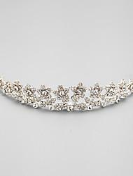preiswerte -Zirkonia Legierung Tiaras Kopfstück klassischen weiblichen Stil