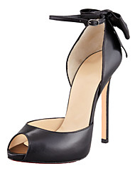 cheap -Women's Shoes Leatherette  Peep Toe Thin Heels11cm Office & Career / Party & Evening / Dress Pumps Shoes