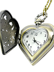 Недорогие -Муж. Карманные часы электронные часы Кварцевый Цифровой Желтый Повседневные часы Аналоговый Кулоны
