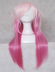 cheap -popular cosplay wig party wigs woman s wigs pink long straight animated synthetic hair wigs freeshipping Halloween