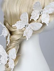 abordables -tela peinado pin tocado boda elegante estilo femenino