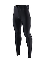 abordables -Arsuxeo Homme Leggings de Sport / Collants de Course Séchage rapide, Respirable, Doux Collants / Bas Yoga / Taekwondo / Boxe Nylon,