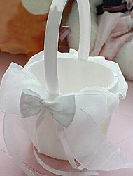 "cheap -Flower Basket Satin 9"" (23 cm) Bowknot 1"