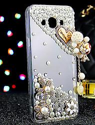 preiswerte -Hülle Für Samsung Galaxy Samsung Galaxy Hülle Strass Rückseite Glänzender Schein TPU für J7 J5