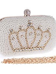 economico -Donna Sacchetti Poliestere Borsa da sera Perle di imitazione Crystal / Rhinestone per Matrimonio Serata/evento Formale Per tutte le