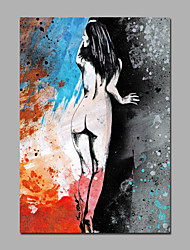 Lady Art Canvas Framed Ready To Hang For Home Wall Art Decoration