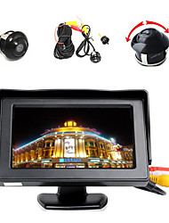 "cheap -4.3"" LCD Color Display Monitor+360° Front/Sides/Rear Reverse Parking HD Camera"