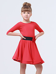cheap -Performance Dresses Children's Performance Spandex