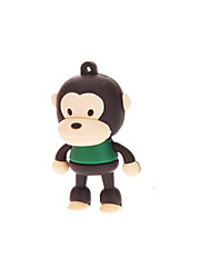 cheap -4GB Cute Rubber Monkey USB Flash Drive
