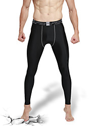 Men's Running Tights Gym Leggings Quick Dry High Breathability (>15,001g) Breathable Compression Sweat-wicking Tights Bottoms for Yoga