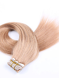 cheap -Tape In Human Hair Extensions Human Hair Straight 20Pcs/Pack 18 inch 20 inch 22 inch 24 inch 26 inch