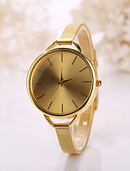 Women Golden Large Size Case Steel Gold Band Watch Jewelry for Wedding Party Fashion Watch