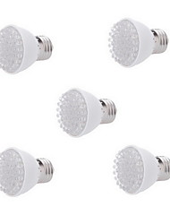 cheap -5pcs 2W LED Grow Light E27 38leds 28Red & 10Blue For Garden Plant Flowering Hydroponics AC220-240V