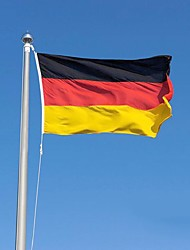 cheap -2016 The Germany Flag Polyester Flag 5*3 Ft 150*90 Cm High Quality Cheap Price In-Kind Shooting(No flagpole)