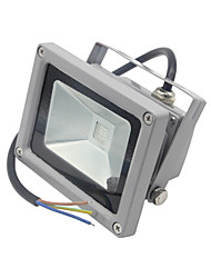 cheap -1pc 10W LED Floodlight LED 1000LM lm Warm White Cold White Waterproof Decorative AC85-265V