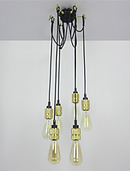 cheap -Vintage Mini Style Pendant Light Ambient Light For Living Room Bedroom Kitchen Dining Room Study Room/Office Entry Game Room Hallway