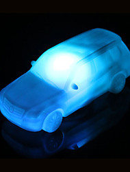 cheap -Creative Color-Changing Acrylic Colorful Car LED  Night Light Small Lantern Home Decoration