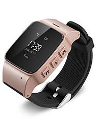 gps bracelet de montre tracker pour les personnes âgées bouton application mobile google map d'appel de décollage alarme gsm gprs traqueur