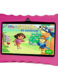 7 pollici Tablet bambini (Android 4.4 1024*600 Quad Core 512MB RAM 8GB ROM)