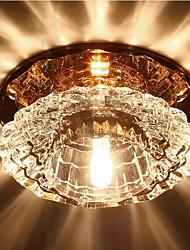 Недорогие -Потолочные светильники Рассеянное освещение Прочее Хрусталь Хрусталь, LED 220-240Вольт Теплый белый