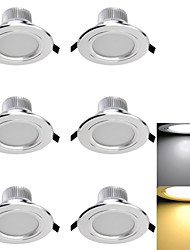 cheap -LED Recessed Lights 6 SMD 5730 300lm Warm White Cold White 3000K/6000K Decorative AC 85-265 AC 220-240 AC 110-130V