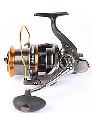 Molinetes Rotativos 4.1:1 13 Rolamentos Trocável Pesca de Mar Rotação Pesca de Isco e Barco-lj9000