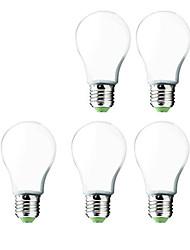 cheap -12W E26/E27 LED Globe Bulbs G60 30 SMD 5730 1000 lm Cool White AC 220-240 V 5 pcs