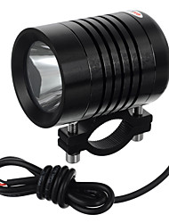 cheap -exLED 10W 12V DIY Car Motorcycle LED High Beam Light / High Quality Motorbike Super Bright Light - Black