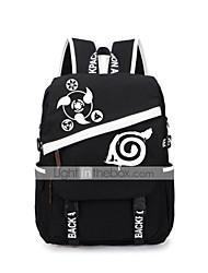 abordables -bolsa Inspirado por Naruto Naruto Uzumaki Animé Accesorios de Cosplay Maleta mochila Lienzo Hombre Mujer