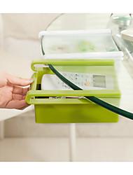 cheap -The Refrigerator Receive Content Box Storage Box Shelf in Classification Random Color