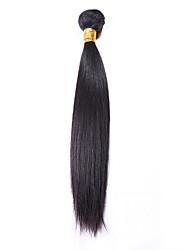 povoljno -Brazilska kosa Ravan kroj Isprepliće ljudske kose 1 komad Ljudske kose plete